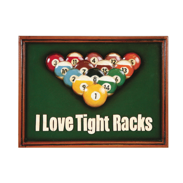 I Love Tight Racks Wall Art