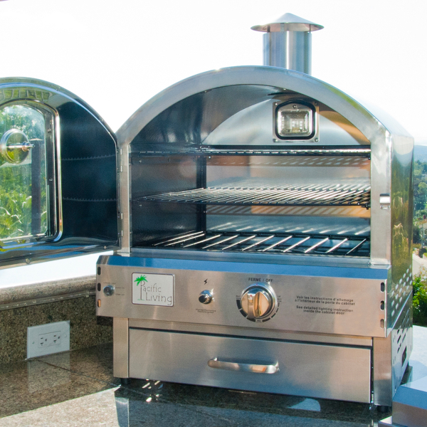 Countertop Gas Grill Outdoor : 430 Stainless Outdoor Built in Oven From Pacific Living Model ...