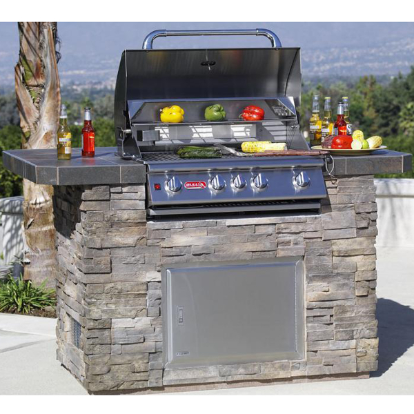 Master Q Outdoor Grill Island By Bull Outdoor Products