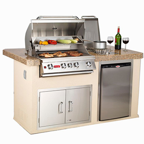 Gourmet Q Outdoor Grill Island By Bull Outdoor Products: Power Q Outdoor Grill Island By Bull Outdoor Products