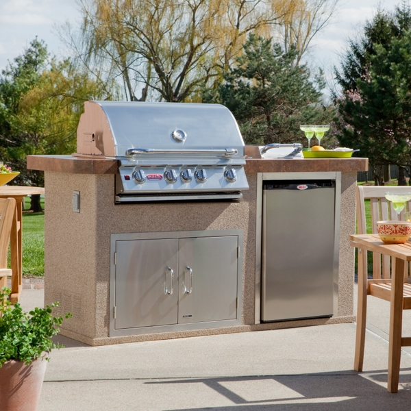 Power Q Outdoor Grill Island By Bull Outdoor Products