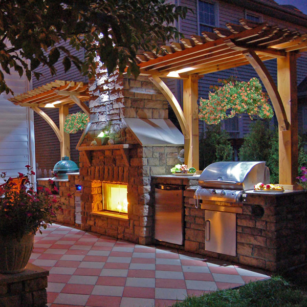 ... Fireplace Project by Leisure Select | Outdoor Rooms | Family Leisure