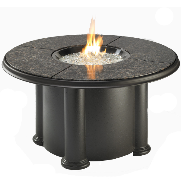 Grand Colonial Fire Pit Table by The Outdoor GreatRoom Company ...