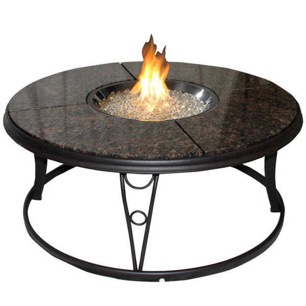 Granite Fire Pit Table by The Outdoor GreatRoom Company | Fire ...