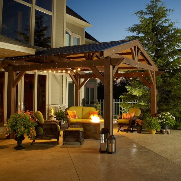 Today People Love Elaborate Outdoor Living Spaces