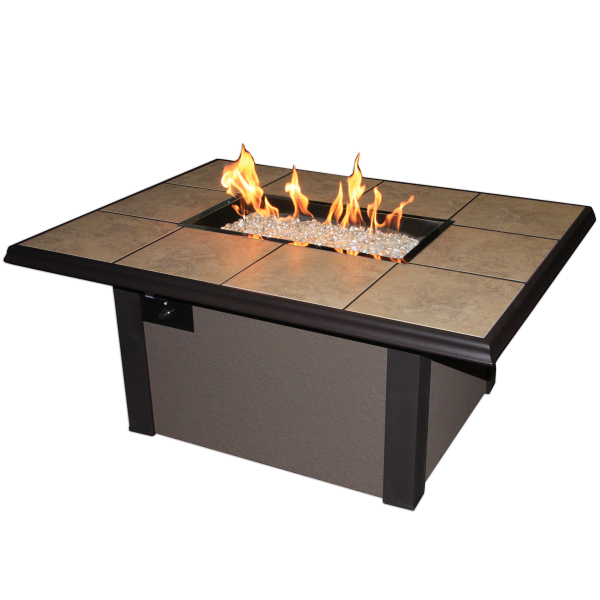Napa Valley Fire Pit Table by The Outdoor GreatRoom Company | Fire ...