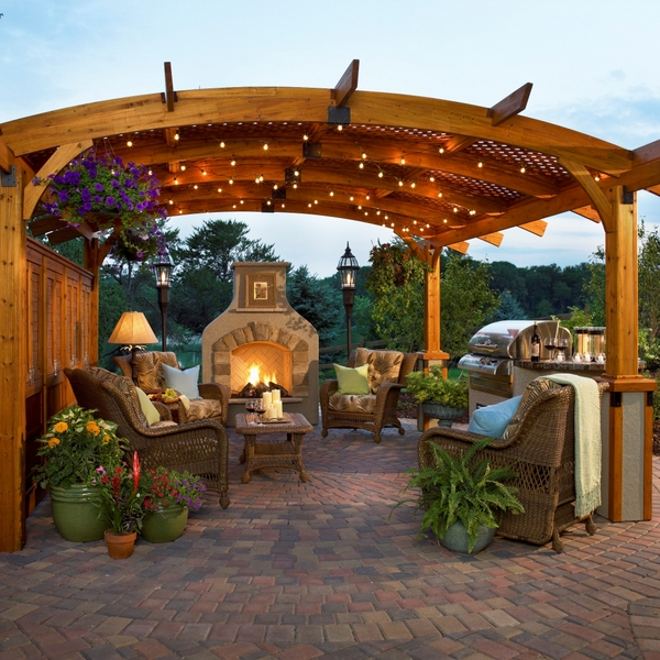 Blogs The Right Lighting Will Turn A Patio Into A