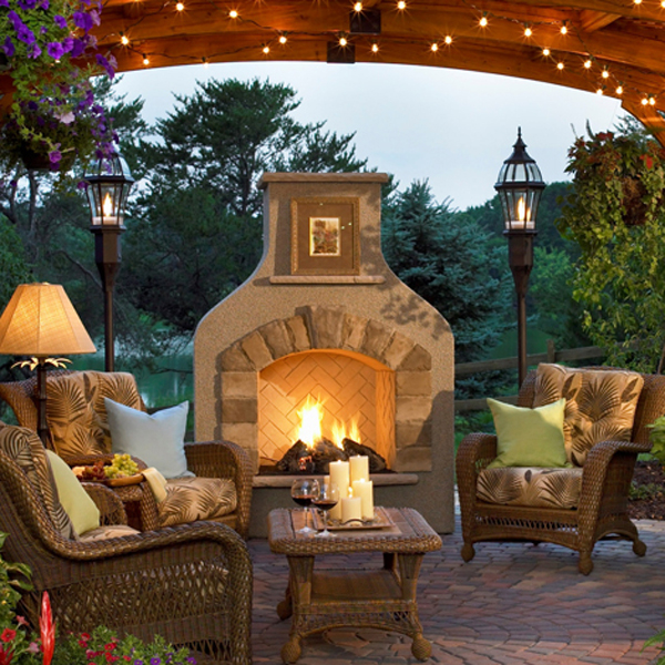Sonoma Fireplace By The Outdoor GreatRoom Company