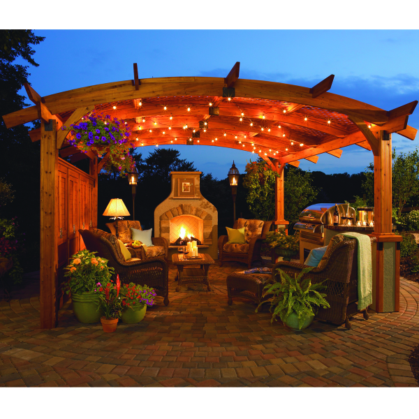 The Sonoma Pergola By The Outdoor Greatroom Company