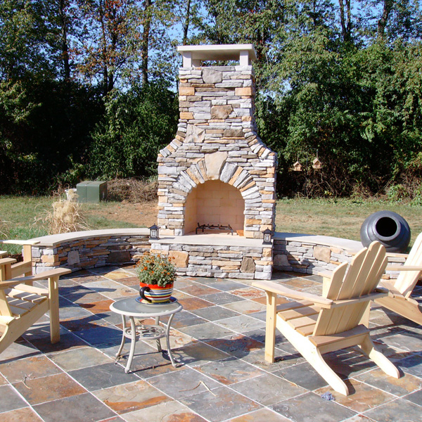 outdoor brick fireplace and grill williams fireplace project