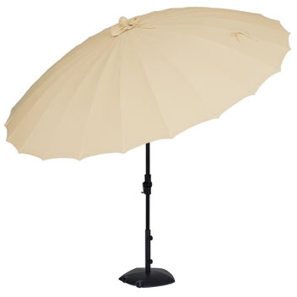 Fiberglass Premium Olefin Collar Tilt Patio Umbrella | eBay