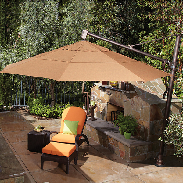 Cantilevered Umbrella