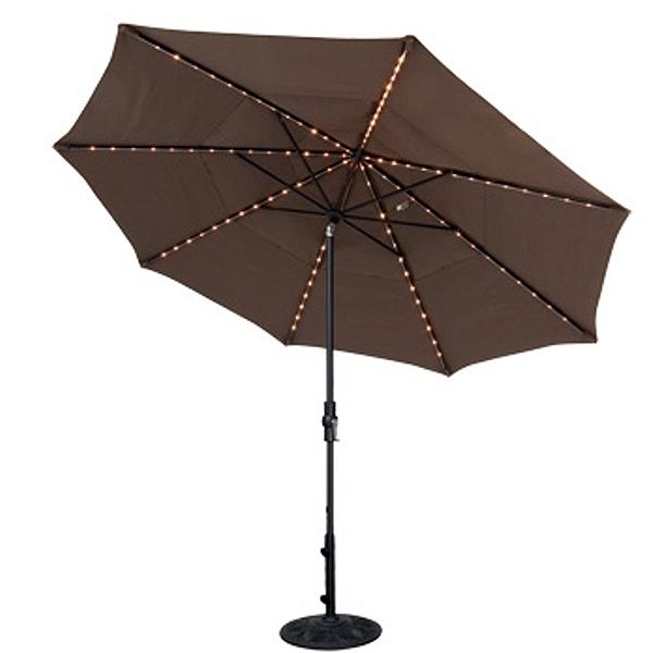 11' Starlight Collar Tilt Umbrella