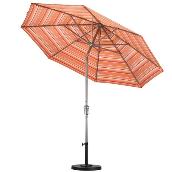 9' Aluminum Auto Tilt Market Umbrella