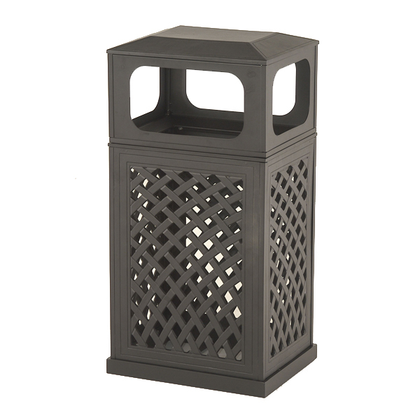 High Quality Free Shipping On Outdoor Trash Cans By Hanamint Family