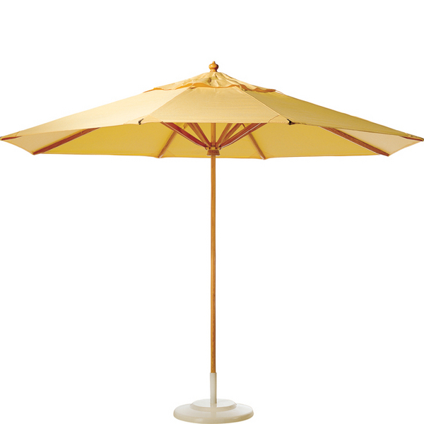 Teak umbrellas, boxes, and additional accessories