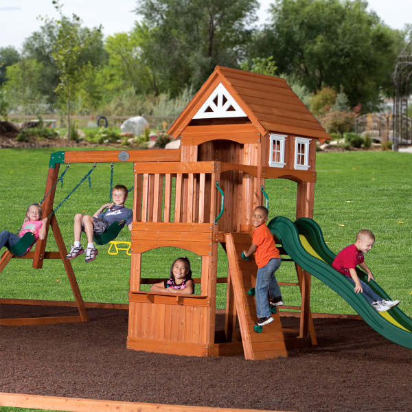 jack 39 s jr gym play set by backyard adventures swing set family