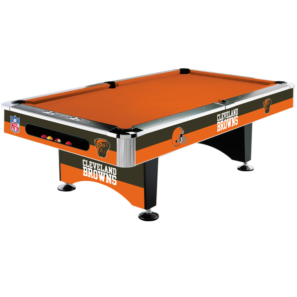 New Imperial NFL Cleveland Browns 8 Foot Pool Billiard Table FREE SHIPPING ! : eBay
