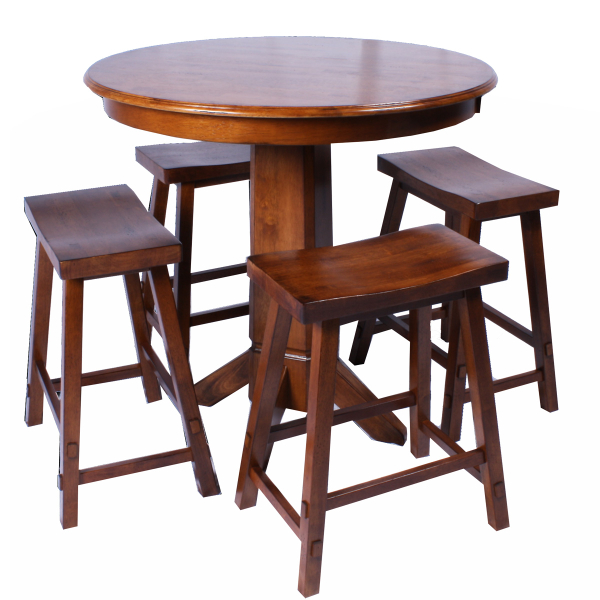 Bar Height Table And Chairs to pin on Pinterest