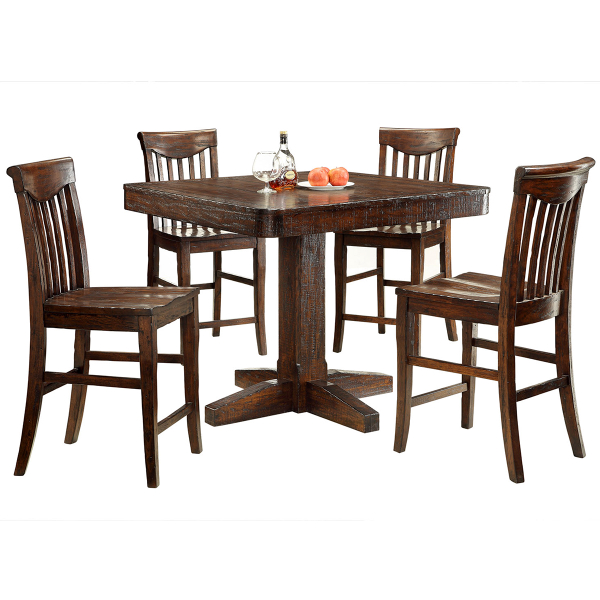 Counter Height Poker Table : Gettysburg Counter Height Table by ECI Furniture Bar Room Pub Table ...