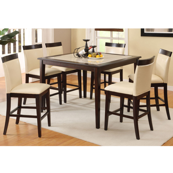 gragnano counter height dining set by family leisure