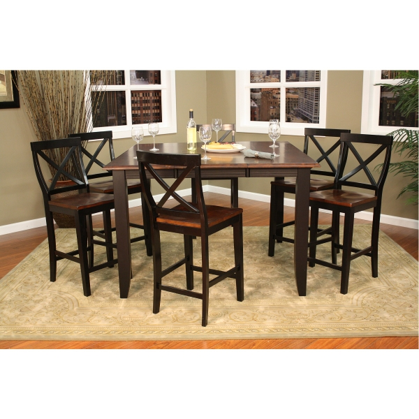 Rosetta Counter Height Dining Set By American Heritage Family