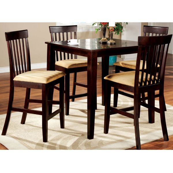 Dining room sets counter height table 2017 2018 best for Pub style dining sets