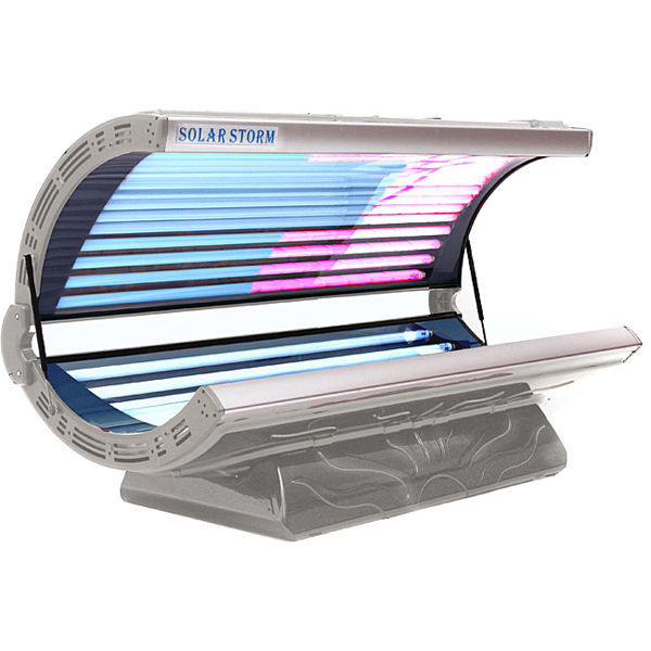 storm 32r by solar storm tanning beds tanning beds family leisure. Black Bedroom Furniture Sets. Home Design Ideas