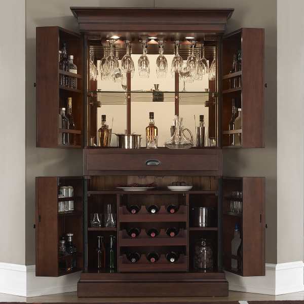 Francesca Wine Amp Bar Cabinet By American Heritage Family