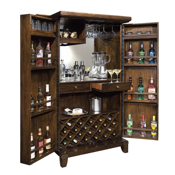 Rogue Valley Wine and Bar Cabinet by Howard Miller