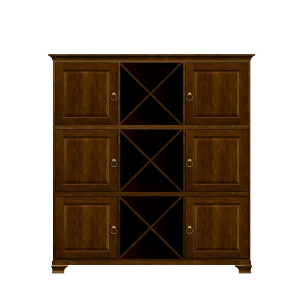 Holly Personal Storage Cabinet Saratoga Cherry by Howard