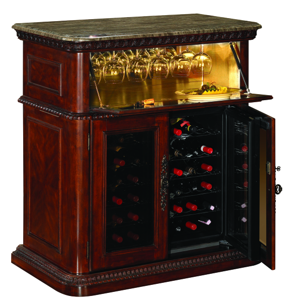 rutherford wine spirits cabinet by tresanti family