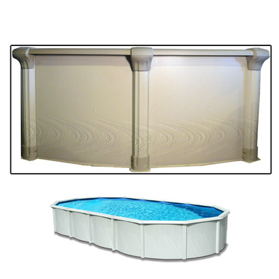 """Cool Off this Summer in the Quest 15'x30'x54"""" Above Ground Pool by Wilbar"""
