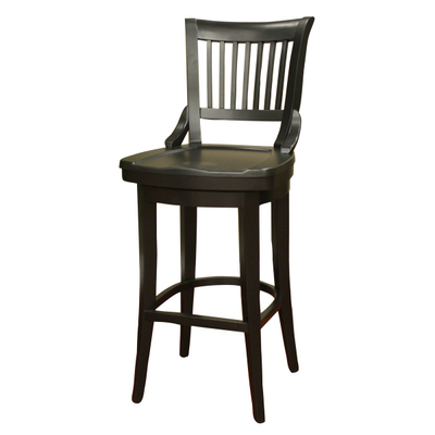 Classic Colonial Furniture Inspired This Wood Bar Stool From American Heritage