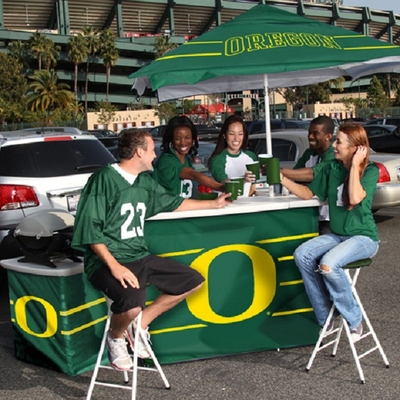 A Portable Party Bar Perfect For College Tailgating & Other Game Day Activities
