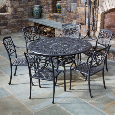 54 Mariposa Dining Collection By Alfresco Home Patio Furniture Family Leisure
