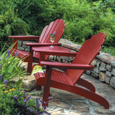 Relax in style on your Adirondack Chairs by New River