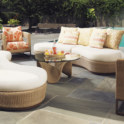 Ideal Athens Dining Aviano Armless Deep Seating