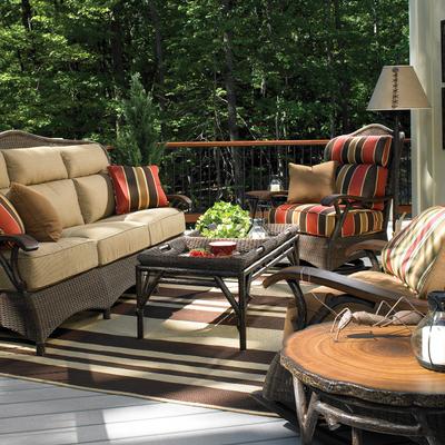 Chatham Run Deep Seating Set By Woodard Family Leisure