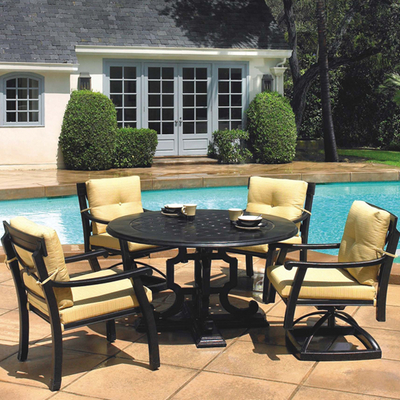 Simply the best best in outdoor cast aluminum patio furniture dining