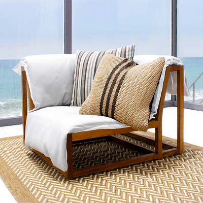 Cozy Sectional Couch By Caluco Outdoor Rooms Family