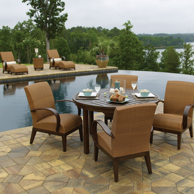 Patio Furniture with Exceptional Curved Designs Stolen From the Motor Industry