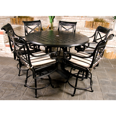 dynasty counter height patio set by gensun free shipping