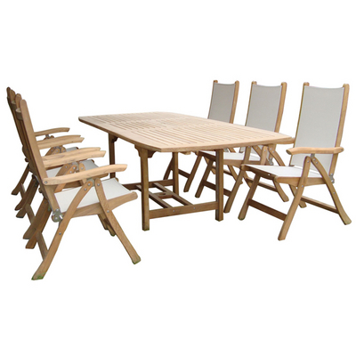 Add the Finishing Touch to Your Outdoor Living Area with Teak Patio Furniture