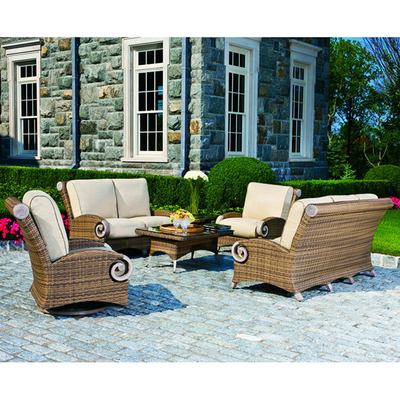Grand Manor Deep Seating By Cast Classics All Weather Wicker Family Leisure