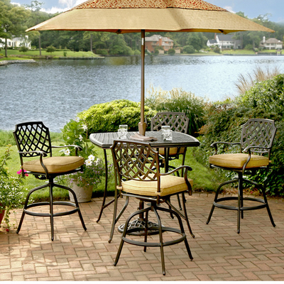 Free Patio Furniture on Provide Luxury   Comfort With A Patio Set From The Select Line Of Agio