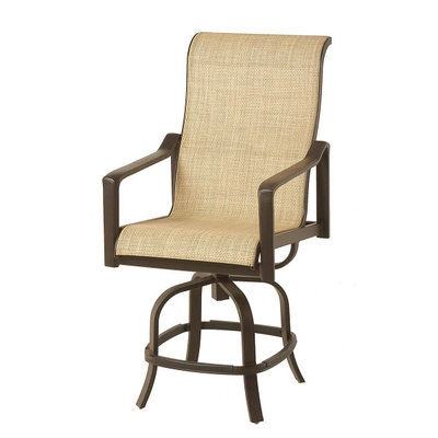 Hyde Park Counter Height Stool Outdoor Furniture Sling