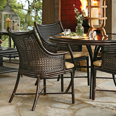 Rattan Wicker Garden Furniture on Outdoor Furniture Inspired By British Colonial Rattan Wicker Furniture