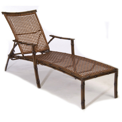 Maylay all weather woven chaise lounge by summer classics for Asian chaise lounge