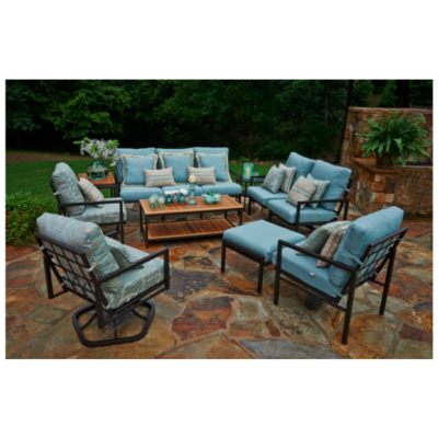 Meridian deep seating collection by meadowcraft cushion for Outdoor furniture quotes